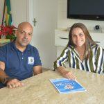 IGUABA GRANDE – Prefeita Grasiella Magalhães firma projeto Defesinha para 2019