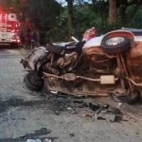 ACIDENTE – Duas pessoas morrem em acidente na RJ-106, em Saquarema, e criança fica ferida
