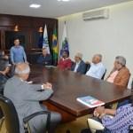 SÃO PEDRO DA ALDEIA – PREFEITO CLÁUDIO CHUMBINHO RECEBE PASTORES ALDEENSES