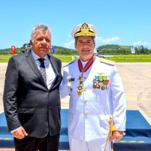 SÃO PEDRO DA ALDEIA – Secretários municipais participam de cerimônia na Base Aérea Naval de São Pedro da Aldeia