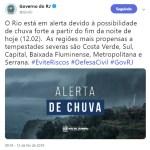 REGIÃO DOS LAGOS – Inmet e Marinha emitem alertas de chuva intensa, ventos fortes e ressaca no interior do RJ