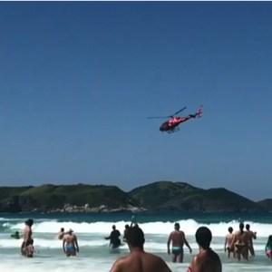REGIÃO DOS LAGOS – Bombeiros fazem 241 salvamentos a vítimas de afogamento em praias durante o feriado