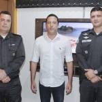 IGUABA GRANDE – Comandante do 25° BPM recebe o Prefeito Balliester Werneck que solicitou reforço na segurança de Iguaba Grande
