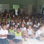 """SÃO PEDRO DA ALDEIA – Alunos do bairro Poço Fundo participam de culminância do projeto """"Todos contra a Dengue"""""""