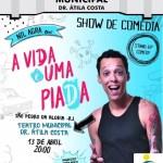 EVENTO – Teatro Municipal recebe show de comédia com Nil Agra neste sábado (13)