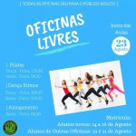 SÃO PEDRO DA ALDEIA – Escola de Artes abre inscrições para oficinas gratuitas de Pilates, Alongamento e Dança Ritmos