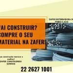 Zafer RA Distribuidora de Ferro e Aço – Vai construir? Compre o seu material na Zafer