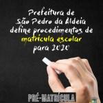 SÃO PEDRO DA ALDEIA – Prefeitura de São Pedro da Aldeia divulga resolução de Matrícula Escolar para 2020