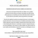Prefeitura de São Pedro da Aldeia divulga nota de esclarecimanto sobre remédios descartados à beira da RJ-140
