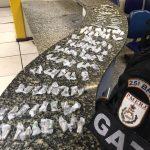 Polícia Militar prende homem com drogas em Cabo Frio