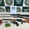 Homem é preso por posse ilegal de arma de fogo em São Pedro da Aldeia