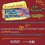 Yuri Vasconcellos inaugura exposição digital de artes sobre a cultura da região