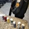 PM apreende sete granadas artesanais na Comunidade da Linha, em Macaé