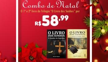 """Livraria da Aldeia: combo de Natal """"O Livro dos Sonhos"""""""