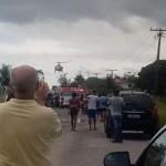 Acidente entre carro e 3 motos deixa um morto e 4 feridos em Araruama