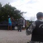 Agentes da GM de São Pedro da Aldeia realizam fiscalização em Praia Linda