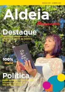 Confira os destaques da Aldeia Magazine, edição 08, 1ª quinzena de janeiro 202. Entrevistas, dicas e a opnião de nossos colunistas.