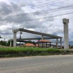 Construção da nova passarela próxima à UPA Pediátrica avança em São Pedro da Aldeia
