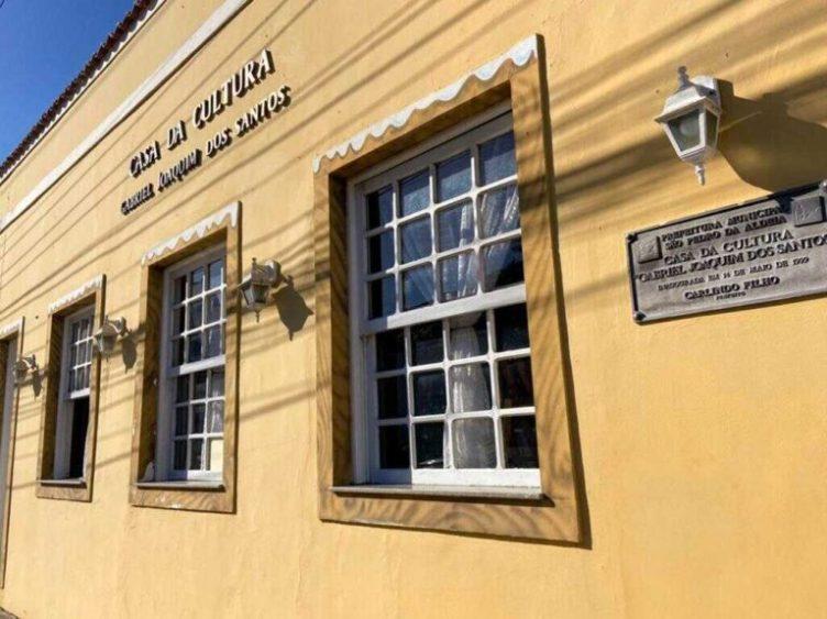 Casa da Cultura Gabriel Joaquim dos Santos completa 22 anos de criação