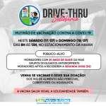 Covid-19: drive-thru solidário promove novo mutirão de vacinação em São Pedro da Aldeia