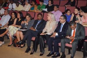 Autoridades de la UASD Santiago y de la Embajada de Suiza