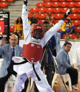 Luis Pie ganador de la medalla de bronce.
