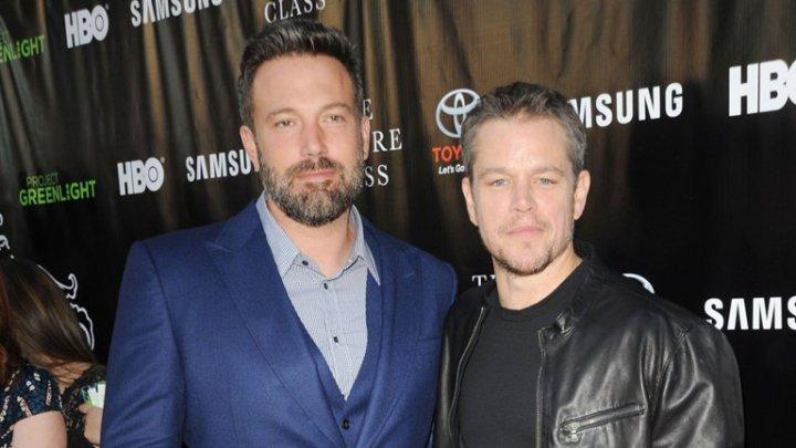 Ben Affleck e Matt Damon - Ben Affleck e Matt Damon juntos num filme que retrata o jogo de risco do McDonald's Monopoly