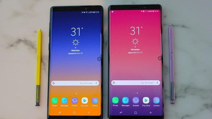 galaxy note 91 - Android Pie em smartphones Samsung? Só em 2019