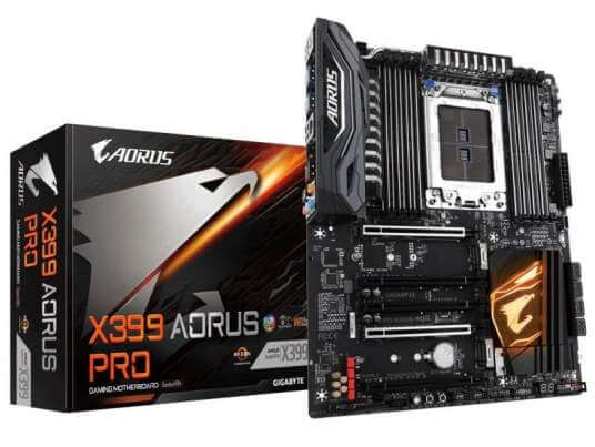 Gigabyte X399 AORUS Pro 1 - X399 AORUS Pro é a nova motherboard lançada pela Gigabyte