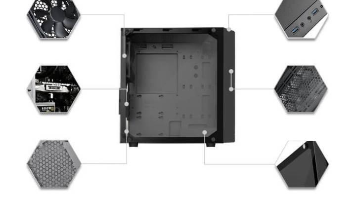 Silverstone PS15 2 - Silverstone anuncia nova caixa compacta com forte ventilação