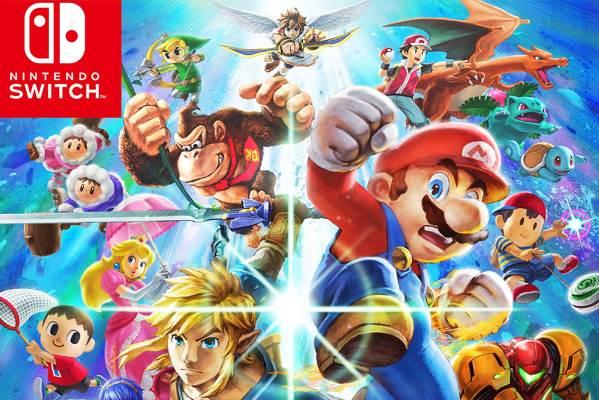 Super Smash Bros. Ultimate prepara-se para receber uma grande atualização