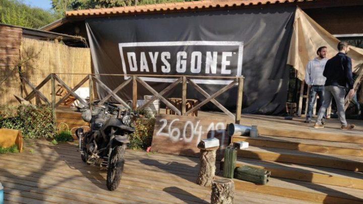 Days Gone - Days Gone oficialmente apresentado em Lisboa