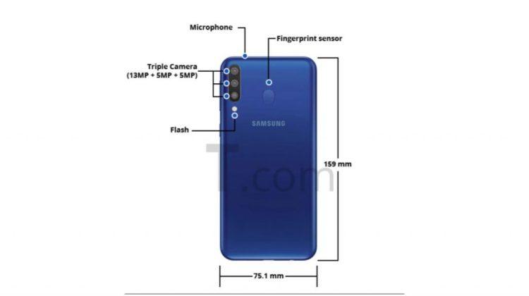 Galaxy M30 Renders 1 - Reveladas as especificações do Samsung Galaxy M30