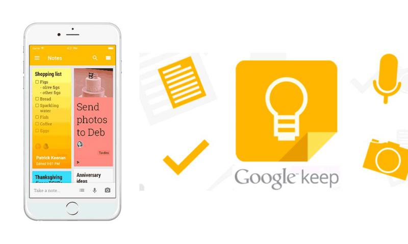 Google Keep 1 - Dark Mode está a chegar ao Google Keep