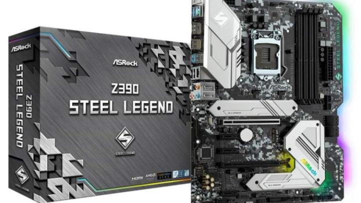 Asrock Z390 Steel Legend 1 - ASRock lança a motherboard Z390 Steel Legend