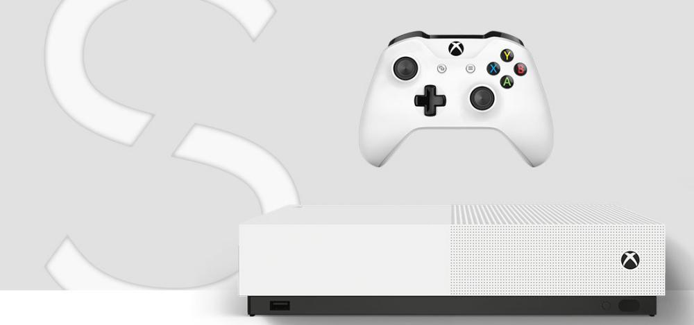Xbox One S All Digital Edition - Xbox One S All Digital Edition é agora oficial