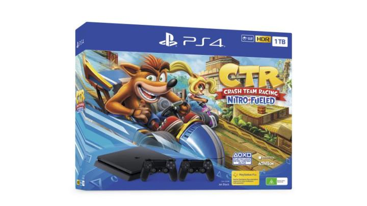 PlayStation Crash Team Racing 1 - PlayStation apresentou dois bundles com Crash Team Racing Nitro-Fueled