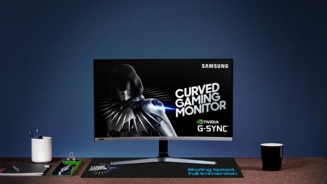 Samsung CRG5 1 - CRG5: o primeiro monitor da Samsung com a tecnologia NVIDIA G-SYNC