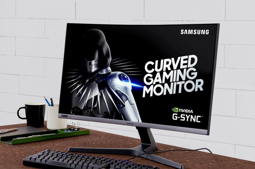 Samsung CRG5 2 - CRG5: o primeiro monitor da Samsung com a tecnologia NVIDIA G-SYNC
