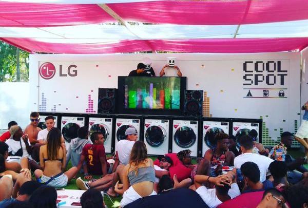 LG COOL SPOT - LG COOL SPOT recebe hoje o primeiro concerto do MEO Sudoeste