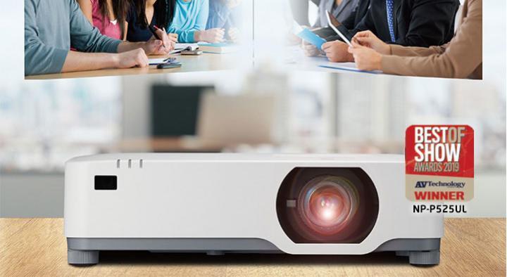 NEC P605UL 2 - NEC lançou um novo projetor laser super silencioso e ultrapoderoso