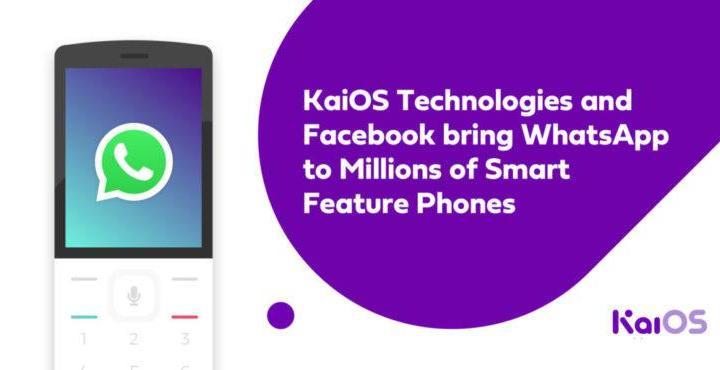 WhatsApp KaiOS - WhatsApp já está disponível para telefones com KaiOS
