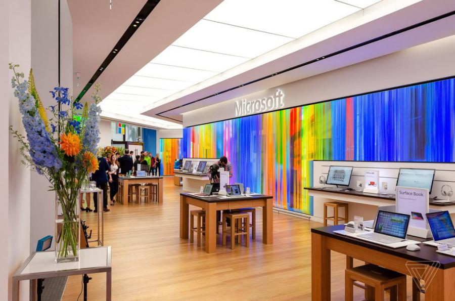 loja microsoft 1 - Microsoft abre a sua primeira loja na Europa