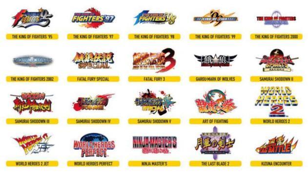 Arcade Stick Pro - Neo Geo Arcade Stick Pro: Revelada a lista de jogos, e definitivamente eu quero um