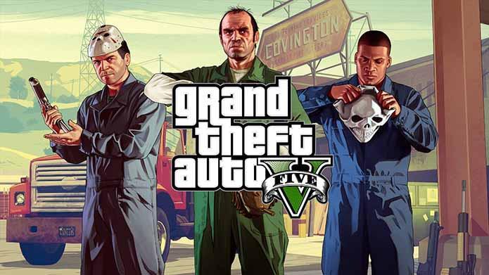 GTA 5 - GTA 5 continua a dominar as vendas na PlayStation Store
