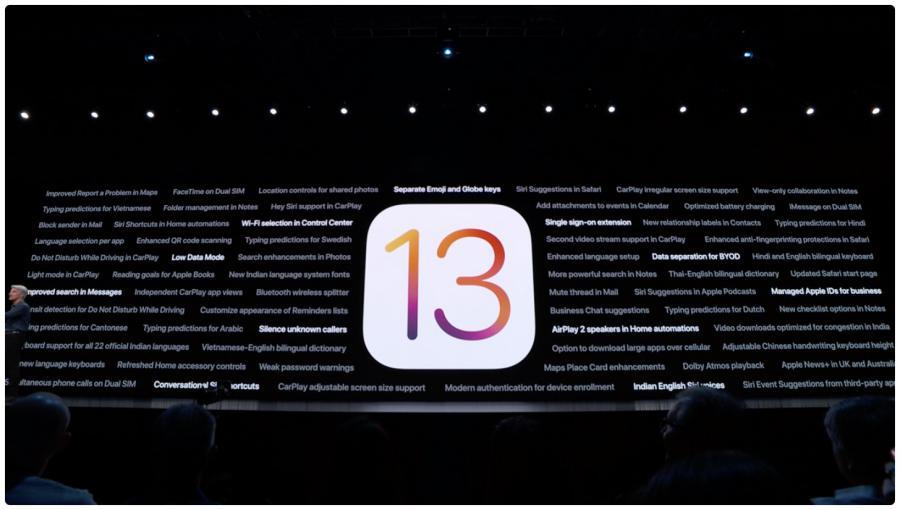 iOS 13 - iOS 13 vai chegar a 19 de Setembro e o iPadOS 13 só no fim do mês