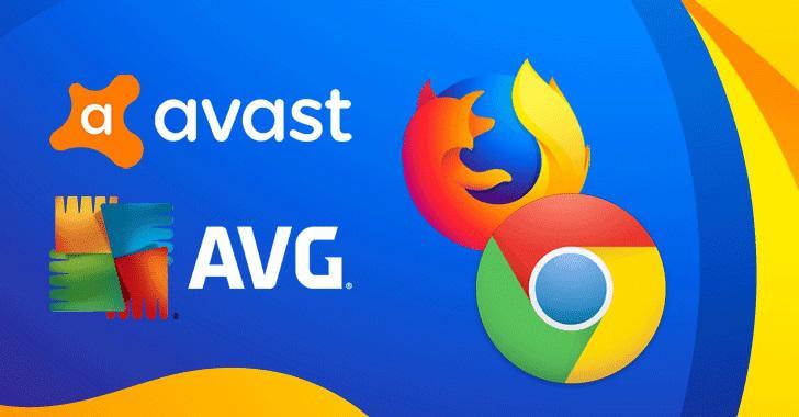 Extensões AVG Avast