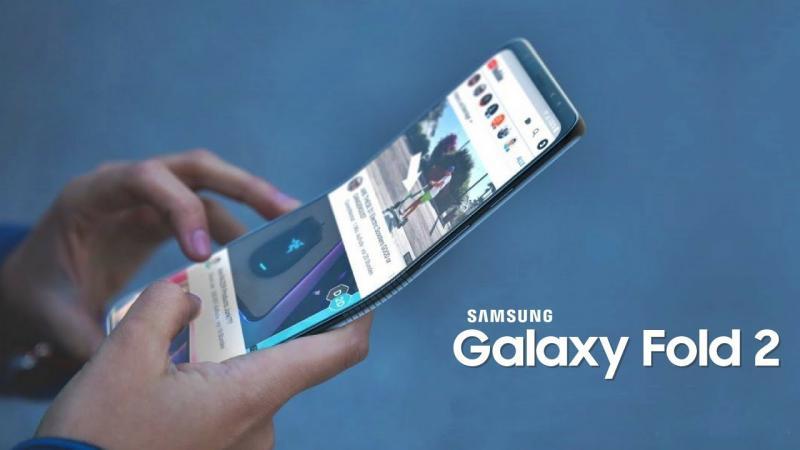 O próximo smartphone dobrável da Samsung poderá chegar em