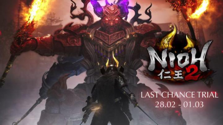Nioh 2 demo vídeo