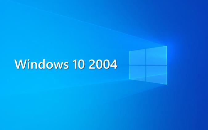 Windows 10 2004 Maio bugs recursos